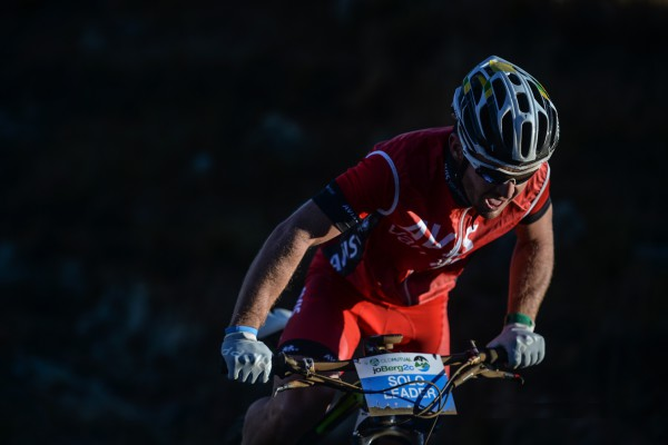 Viewers worldwide will be able to catch all the daily action from the Old Mutual joBerg2c via the official event website. Pictured here is elite mountain biker Tyronne White, riding in the colours of broadcast partner Avis, during last year's event. Photo: Kelvin Trautman