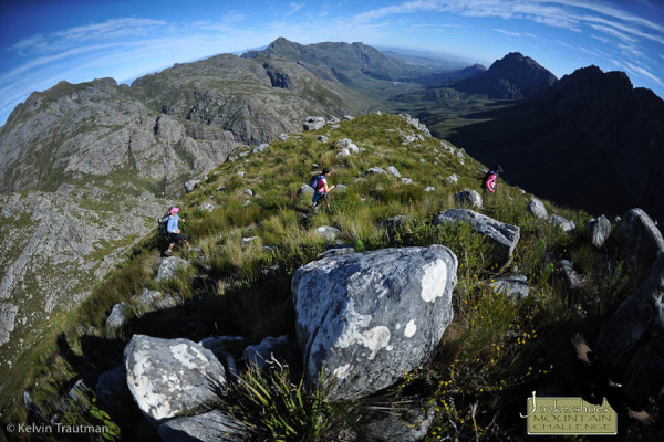 Some of the views that runners can expect at this year's Jonkershoek Mountain Challenge (JMC) on 3 May. Image by Kelvin Trautman
