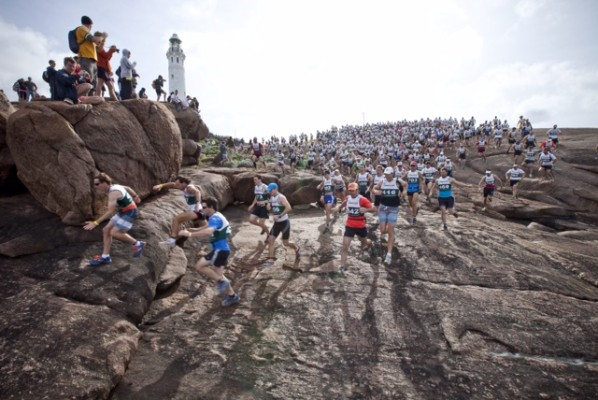 4000 Plus entrents at the start of the Augusta Adventure Fest  - Photo suplied