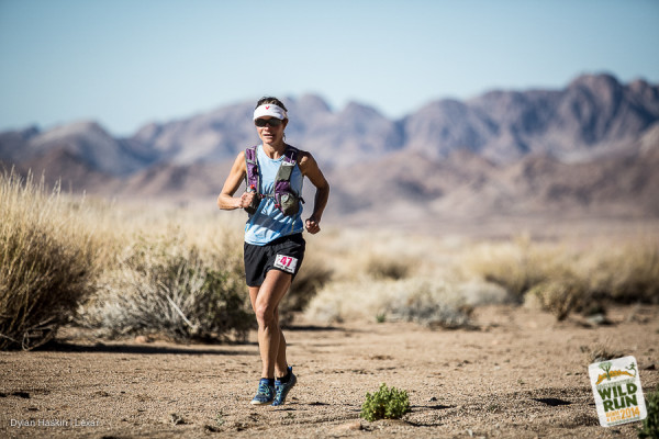 Katya Soggot at the Richtersveld Wildrun™ 2014. Image by Dylan Haskin.