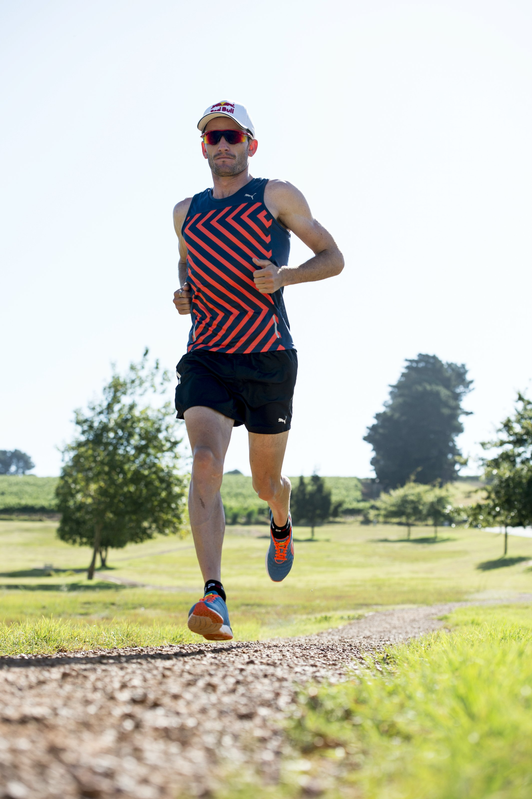 South African Olympic Triathlete, Richard Murray is looking forward to lining up with some of the world's best road runners at the inaugural FNB Cape Town 12 ONERUN on Sunday, 17 May 2015.  PHOTO CREDIT:  Craig Kolesky Red Bull Content Pool Nikon