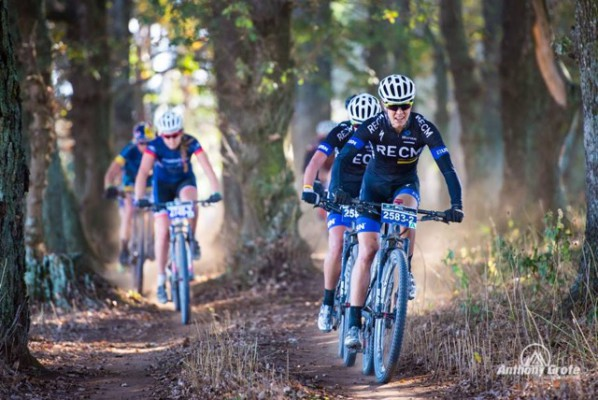 Team RECM stars Cherise Stander and Ariane Kleinhans dominating the field - Photo Anthony Grote