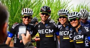 Team RECM Erik Kleinhans, Nico Bell, Ariane Kleinhans and Cherise Stander   - Photo Darren Goddard