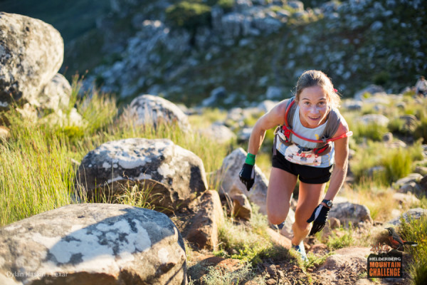 Katya Soggot will be hoping to secure her second victory at the Mountain Challenge Series in her bid for the Series title. Image by Dylan Haskin