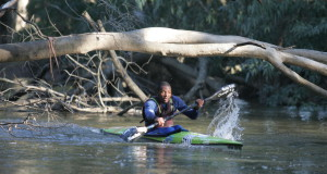 Euro Steel/Red Bull's Sbonelo Khwela has opted out of this year's Berg River Canoe Marathon that takes place from 15-18 July due to race's notoriously cold and harsh weather conditions and will instead focus his energies on preparing for the Avon Descent in Australia in August. Mouton van Zyl/ Gameplan Media
