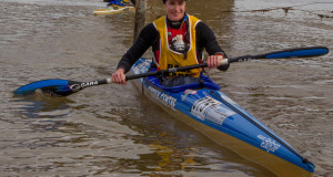 Abby Solms has committed to returning to defend the Berg River Canoe Marathon women's' title that she won on debut last year. John Hishin/Gameplan Media