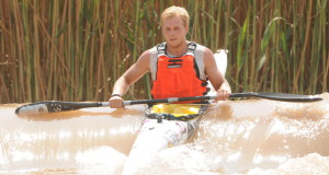 Australian paddler Brendan Rice is no foreigner to South African rivers having tackled the Hansa Fish River Canoe Marathon in 2014 however he realises that the Berg River Canoe Marathon will be a completely different kettle of fish when the race gets underway in Paarl from 15-18 July. Jetline Action Photo/Gameplan Media