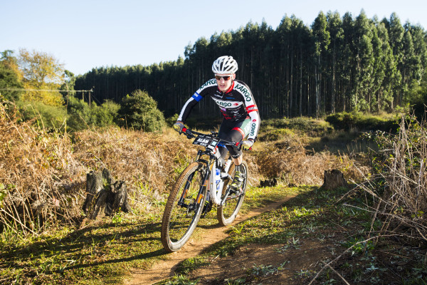 Kargo Pro MTB's Alan Hatherly romped to a comfortable victory in Sunday's Sappi Howick MTB Classic. - Anthony Grote/ Gameplan Media
