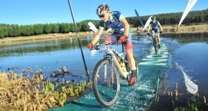 Western Cape based Chris Wolhuter (front) will reunite with Team TIB team mate and two-time defending BSi Steel dusi2c champion Andrew Hill for the 2015 edition of the race starting in Pietermaritzburg on Saturday.  - Jetline Action Photo/ Gameplan Media