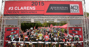 Riders at the start of the 2015 Ashburton Investments National Series - Photo Zoon Cronje