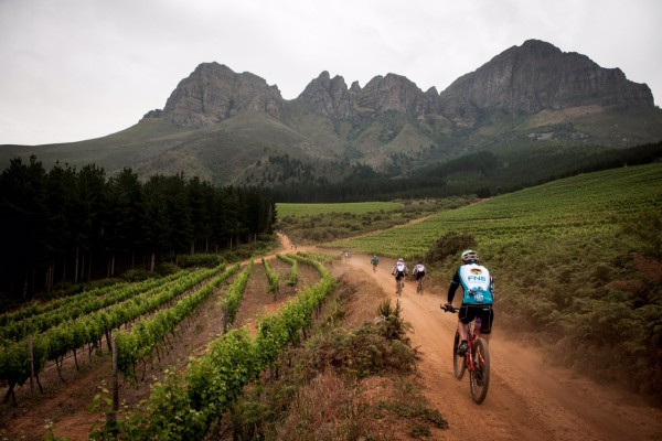 Riders in action at the 2014 FNB Wines2Whales MTB Events.  Photo Credit:  Cherie Vale / NEWSPORT MEDIA