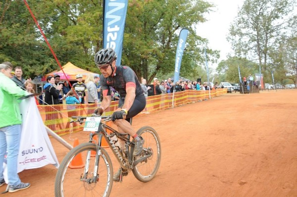 Andrew Westaway won the 60km Bestmed Sondela MTB Classic, presented by ASG, near Bela-Bela in Limpopo on Sunday. Photo: Jetline Action Photo