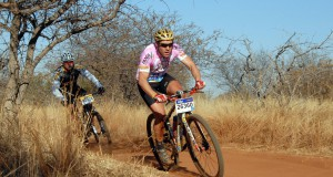 Defending champion David van Straaten will be striving for his hat-trick when he lines up for the 60km Bestmed Sondela MTB Classic, presented by ASG, near Bela-Bela in Limpopo on Sunday. Photo: Jetline Action Photo