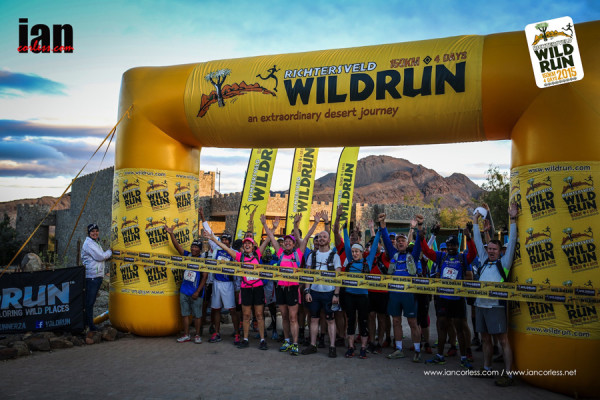 The start of the Richtersveld Wildrun™. Copyright Ian Corless