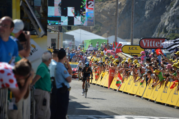 Richie PORTE ( SKY ) finished 2nd in front Nairo Quintana (MOV ) 3rd - Crédit : ASO/B.Bade