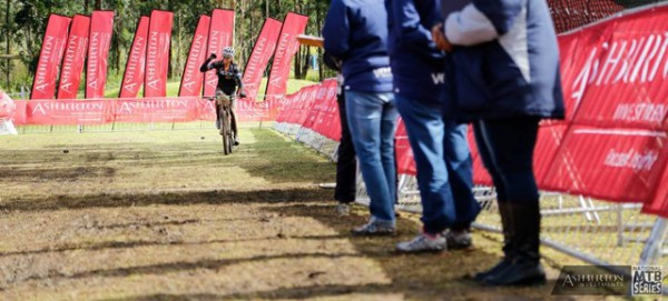 Ariane Kleinhans taking the win at the  National MTB Series 5 - Photo Zoon Cronje