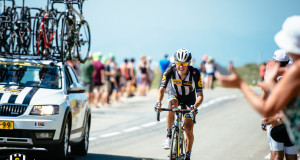 Serge Pauwels courageously rides to 4th place - Gruber Images