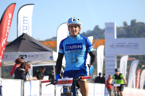 Stuart Marais was first man over the line in the opening event of this year's BIG5 SPORT CHALLENGE - Photo Supplied