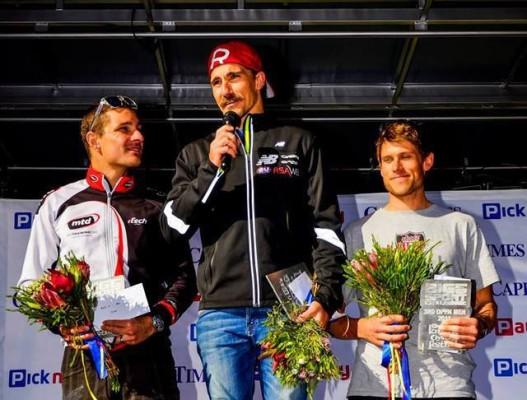 Stuart Marais takes centre podium - Photo Supplied