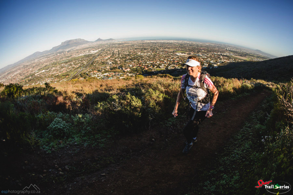 Beautiful views on a spectacular day at race 2 of the Spur Cape Winter Trail Series™ at the Tygerberg Nature Reserve. Image by Ewald Sadie