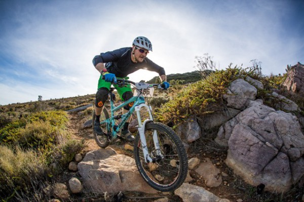 Helderberg All Mountain Enduro taking place on 16 August 2015 at Helderberg Farm
