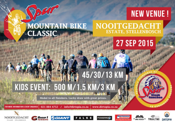 2015.08.25 - Spur MTB Classic Poster
