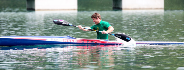 In what was an up and down day for Team South Africa at the 2015 ICF Canoe Sprint World Championships in Milan para-paddler Graham Paull finished fifth in his KL1 200m final which has all but guaranteed him a place at the 2016 Rio Olympic Games. Balint Vekassy/ Gameplan Media