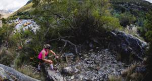 Liandi van der Westhuyzen dominating at the Spur Cape Winter Trail Series™ in Kleinmond. Image by Ewald Sadie