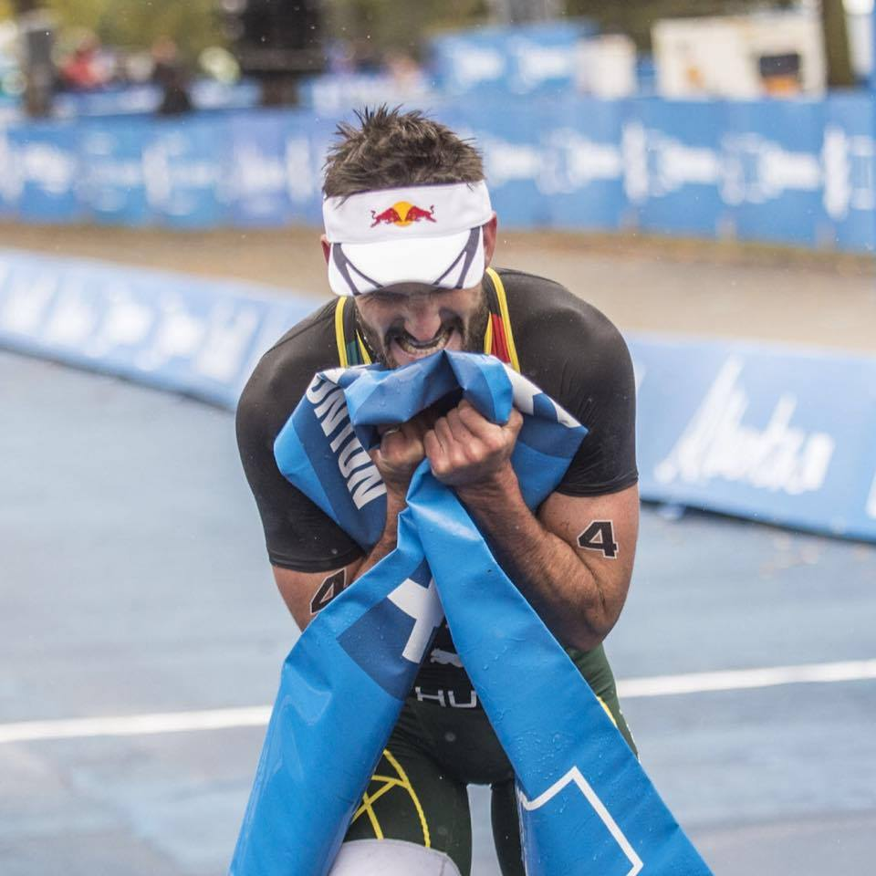 Richard Murray won his second World Triathlon Series race with his victory in Edmonton, Canada on Sunday.