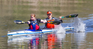 After winning their second successive Breede title on the weekend, the crew of Alex Adie and Nikki Mocké are aiming to be contenders for the Hansa Fish Canoe Marathon women's title.. Supplied/ Gameplan Media