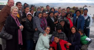 Learners of the Botriver Education Foundation (BEF) together with their parents and BEF representatives on an educational excursion to the Artscape Theatre where they watched West Side Story.  Photo Credit:  Anthony Hess, BEF Coordinator