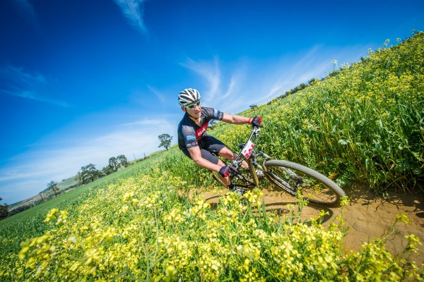 Riders in action during the ISUZU 3km Team Relay that formed part of Day One of the ISUZU MTB Festival Cape Town at the Meerendal Wine Estate (Durbanville) on Saturday, 05 September 2015.  Photo Credit:  Volume Photography