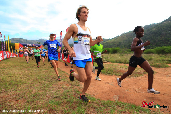 Runners take off at race 4 of the Spur KZN Trail Series®. Image by Greg Labuscagne
