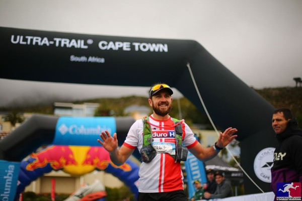 Enduro Hub ambassador, Morne Van Greunen finishing the 65km trail race in style with a 6th spot overall.
