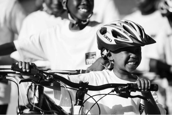 Only smiles as Tshwane Urban Rider recieve their bicycles