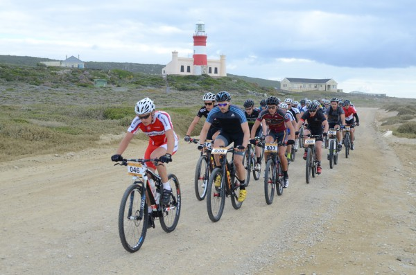 Cape Algulhas MTB Classic taking place on 12 December  2015 in Struisbaai, Overberg