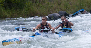 With two FNB Dusi Canoe Marathon crowns under their belt Euro Steel's Andy Birkett will team up with former partner Jason Graham for the Umpetha Challenge from Camps Drift to the Bishopstowe Farmer's Hall on Sunday, 8 November. Anthony Grote/ Gameplan Media
