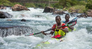 The 2015/16 KZN river marathon season kicks into gear for Build it/Williams Hunt star Thulani Mbanjwa (front) as he pairs up with Shaun Rubenstein for the Umpetha Challenge on Sunday, 8 November. Anthony Grote/ Gameplan Media