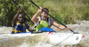 With the 2016 FNB Dusi Canoe Marathon season getting into full swing the ADreach pair of Len Jenkins and Siseko Ntondini will be looking to build on what has been a solid start at the Ozzie Gladwin Canoe Marathon, presented by Parklane Superspar, on Sunday 29 November. Anthony Grote/ Gameplan Media