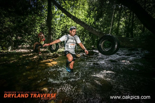 Igsaan at a river crossing while some crazy guy in the back swings on a tyre (Photo courtesy of www.oakpics.com)