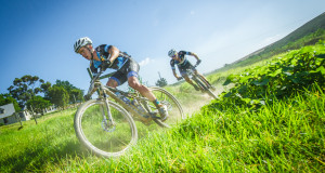 Team RECM's Erik Kleinhans and James Reid closed their racing season off on a high note on Sunday, 08 November 2015 by claiming gold at the FNB Wines2Whales (W2W) Three Day Mountain Bike (MTB) Stage Race.  Seen here (from left to right):  James Reid and Erik Kleinhans of Team RECM in action on the day.  Photo Credit:  Volume Photography