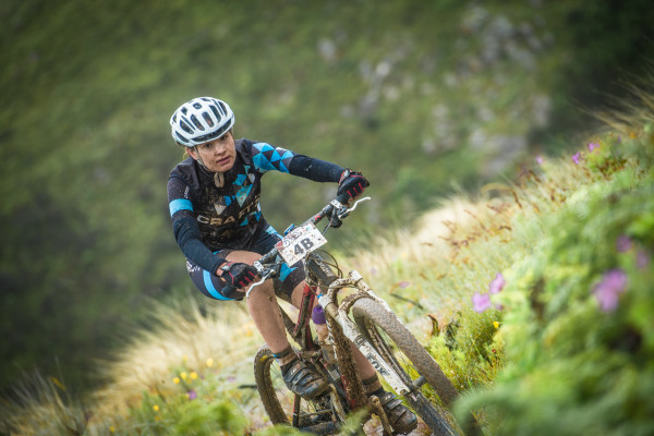 Stage Two of the FNB Wines2Whales (W2W) Mountain Bike (MTB) Adventure was met with much excitement on Saturday, 31 October 2015.  Seen here:  Simone Rhoda Van Aardt of Team Tailormade Properties Craft Racing in action on the day.  Photo Credit:  Volume Photography