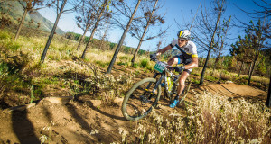Stage one of the Pennypinchers Origin Of Trails kicked off in Stellenbosch today (Friday, 27 November 2015).  Each year leading mountain bikers welcome the opportunity to relax and enjoy the trails at South Africa's mountain bike party of the year.  Seen here:  Stefan Sahm of Team Bulls in action on the day.  Photo Credit:  Volume Photography