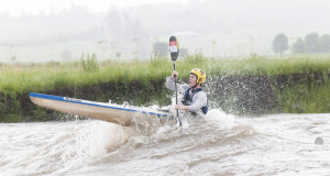 After a summer-long drought that has left the Mzimkhulu River running pitifully low, a perfectly placed thunderstorm has filled the river ten days before the popular N3TC Drak Challenge Canoe Marathon, rekindling the possibility of the high waters experienced on the race in 2013. Anthony Grote/ Gameplan Media