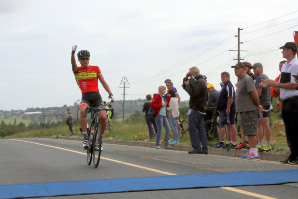 Gustav Basson wins