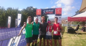 The Stellenbosch locals, from left to right: Niel Swanepoel, Mauritz Janse Van Rensburg, AJ Calitz, Landie Greyling and Christiaan Greyling. Photo by Seamus Allardice.