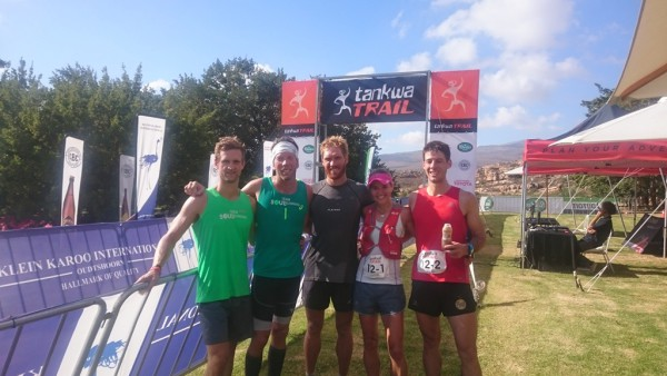 The Stellenbosch locals, from left to right: Niel Swanepoel, Mauritz Janse Van Rensburg, AJ Calitz, Landie Greyling and Christiaan Greyling. Photo by Seamus Allardice.