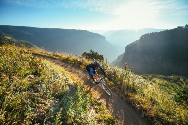 The 2016 KAP sani2c will see some refreshed trails and tracks after event founder 'Farmer Glen' Haw threw his focus into providing riders with their trademark fast and flowing track for the event starting in Underberg on 10 May. Kelvin Trautman/ Gameplan Media