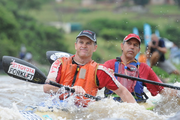 Eric Bothma's (back) run of consecutive Non-Stop Dusi Canoe Marathon finishes will end at nineteen after the 49 year-old opted out of the 20th edition of the race set to take place on Friday, 4 March. Jetline Action Photo/ Gameplan Media