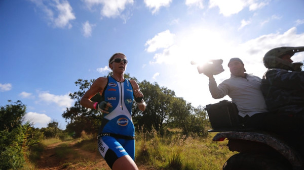 Andrea Steyn setting a comfortable lead for the ladies - Photo Credit: ZC Marketing Consulting